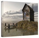 Cynthia Decker 'Locked Out' Gallery Wrapped Canvas Gallery Wrapped Canvas by Cynthia Decker
