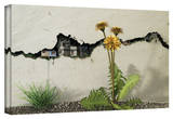 Cynthia Decker 'Between the Cracks' Gallery Wrapped Canvas Stretched Canvas Print by Cynthia Decker
