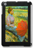 Lady in a Meadow iPad Mini Case by Federico Zandomeneghi