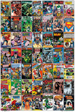 DC Comics - Comic Covers Print