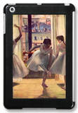 Three Dancers in a Practice Room iPad Mini Case by Edgar Degas