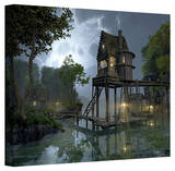 Cynthia Decker 'Stillwater' Gallery Wrapped Canvas Gallery Wrapped Canvas by Cynthia Decker