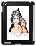 Aqua iPad Case by Charmaine Olivia