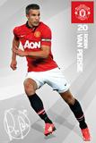 Man United - Van Persie Affiches