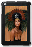 Feathers and Skulls iPad Mini Case by Charmaine Olivia