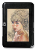 Bears in Hair Galaxy Note 10.1 Case by Charmaine Olivia