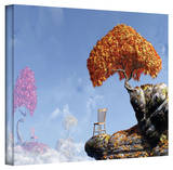 Cynthia Decker 'Leaf Peepers' Gallery Wrapped Canvas Stretched Canvas Print by Cynthia Decker