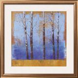 Birch Trees I Framed Giclee Print by Cheryl Martin