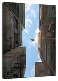 Cynthia Decker 'Afternoon Alley' Gallery Wrapped Canvas Stretched Canvas Print by Cynthia Decker