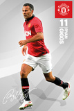 Man United - Giggs Print