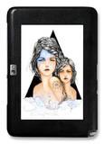 Aqua Galaxy Note 10.1 Case by Charmaine Olivia