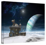 Cynthia Decker 'Observatory' Gallery Wrapped Canvas Stretched Canvas Print by Cynthia Decker