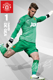 Man United - De Gea Posters