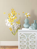 Yellow Flower Arrangement Peel and Stick Wall Decals Wall Decal