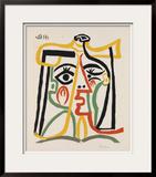 Tete de femme Posters by Pablo Picasso