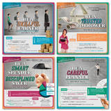 Secrets to Money Management Laminated Educational Poster Set Poster