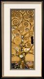 Der Baum des Lebens Gerahmter Giclée-Druck von Gustav Klimt