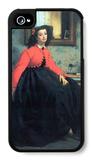 Portrait of Mme. L.L. iPhone 4/4S Case by James Tissot
