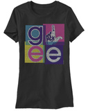 Juniors: Glee - Blocks T-shirts