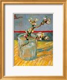 Blossoming Almond Branch in a Glass, c.1888 Gerahmter Giclée-Druck von Vincent van Gogh
