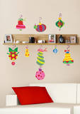 Holiday Ornaments Peel and Stick Giant Wall Decals Wall Decal