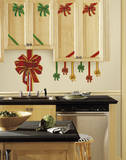 Holiday Bows Peel and Stick Giant Wall Decals Wall Decal