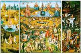 Hieronymus Bosch - Hieronymus Bosch Garden of Earthly Delights Plastic Sign - Plastik Tabelalar