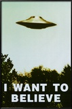 The X-Files - I Want To Believe Print Stampe