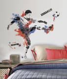 Men's Soccer Champion Peel and Stick Giant Wall Decals Wall Decal