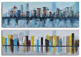 Duo of waterlogged city Prints