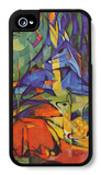 Deer in Forest iPhone 4/4S Case by Franz Marc
