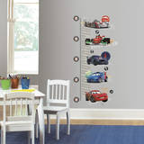 Cars 2 Peel and Stick Metric Growth Chart Wall Decals Wandtattoo