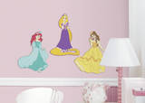 Disney Princess Foam Characters Wall Decal