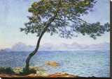 Antibes Stretched Canvas Print by Claude Monet