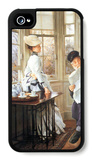 The Messages Read iPhone 4/4S Case by James Tissot