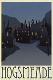 Hogsmeade Retro Travel Plastic Sign Wall Sign