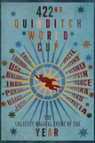 422nd Quidditch World Cup Plastic Sign Wall Sign