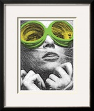 See the Future Framed Giclee Print by  Print Mafia