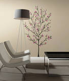 Pink Blossom Tree Peel and Stick Giant Wall Decals Wall Decal