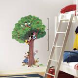 Mickey & Friends Peel and Stick Metric Growth Chart Wall Decals Lepicí obraz na stěnu