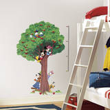 Mickey & Friends Peel and Stick Metric Growth Chart Wall Decals Seinätarra