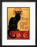 Tournee der schwarzen Katze, ca. 1896 Kunst von Théophile Alexandre Steinlen