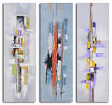 Urban abstract triptych Print