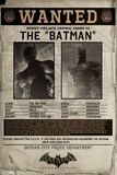 Batman Origins - Wanted Posters