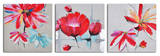 Floral relations triptych Poster