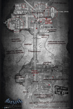 Batman Origins - Map Posters