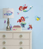 The Little Mermaid Peel and Stick Wall Decals Wallstickers
