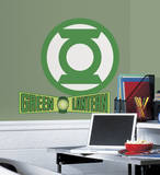Classic Green Lantern Logo Peel and Stick Giant Wall Decals Wall Decal