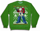 Transformers - Optimus Prime Christmas Sweater T-shirts