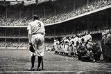 Babe Ruth Retirement New York Yankees Sports Plastic Sign Plastikskilte
